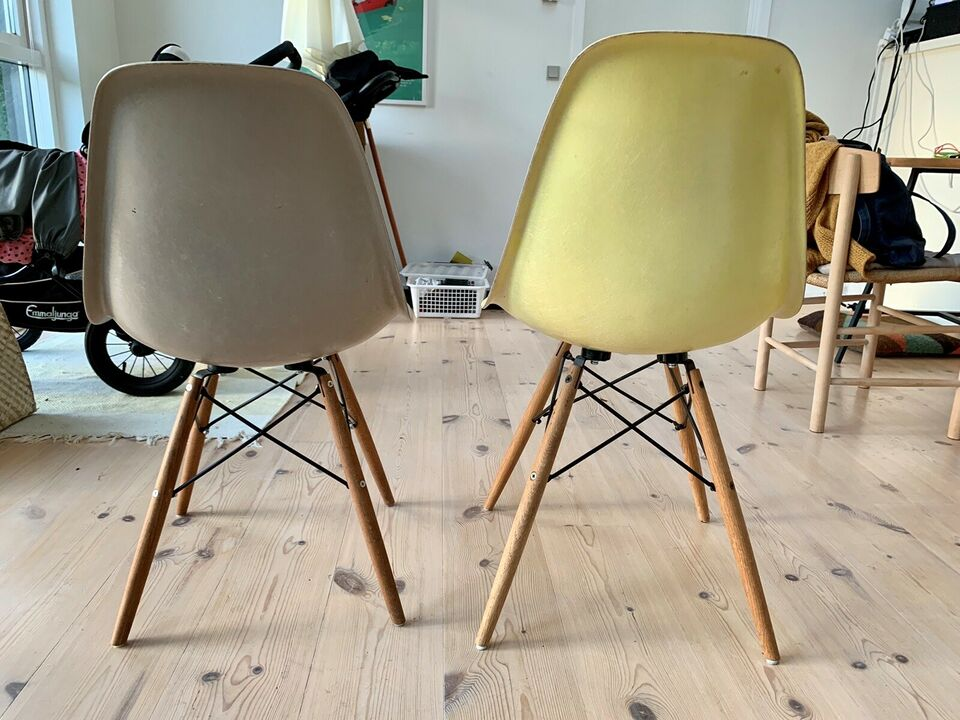 Eames, stol, DSW glasfiberskal – dba.dk – Køb og Salg af Nyt