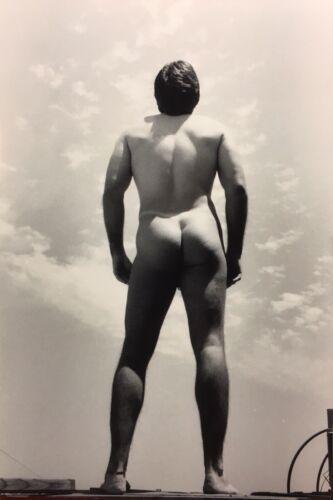 SELF-PORTRAIT NUDE—Male Art Photo Print B+W Photography by PABLO—Gay Men's Int.