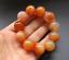 20MM China Natural Agate Onyx Carved Buddha Beads Bracelet Bangle Wristlet