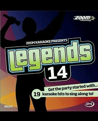 Karaoke Cdg Zoom Legend Vol 14 Elie Brooks/kiki Dee/b.tyler/cher 19 Hits Beneficial To Essential Medulla Musical Instruments & Gear