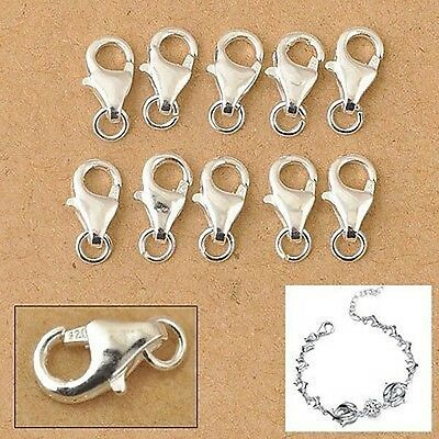 Jewelry Accessories Silver Lobster Clasp Finding Connector 20pcs lot