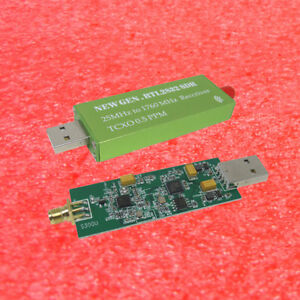 Details about RTL-SDR USB Dongle RTL2832U + R820T2 + 1Ppm TCXO TV Tuner  Stick Receiver
