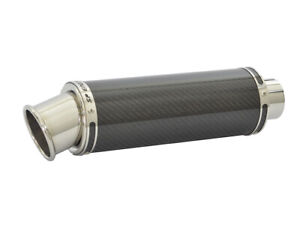 """2.5/"""" Slip On SP Engineering Carbon Fibre Oval Big Bore XL Exhaust 63mm"""