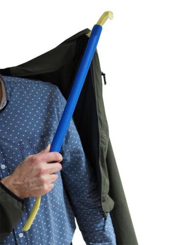 Anziehhilfe Ankleidehilfe mit Schuhanzieher Schuhlöffel Strumpfanzieher 62 cm