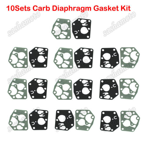 7721 3HP 3.75HP 10x Carb Diaphragm Gasket Kit for 5083H 5083K 495770 795083