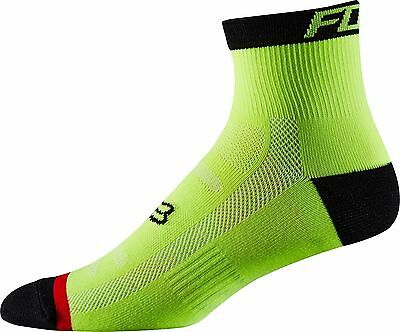"Fox Racing MTB Creo Trail 8/"" Performance Sock Flame Red"