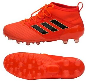 15f7bdce0031 Adidas Men ACE 17.2 HG Cleats Red Soccer Football Futsal Shoes GYM ...