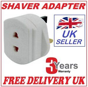 Shaver Plug Adaptor Shaving Toothbrush Adapter Epilators ...