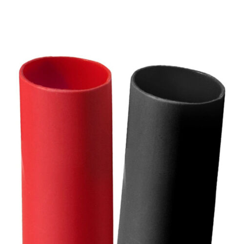 """3:1 Heat Shrink Tubing Kit Multi-Purpose Electrical Connection Black/& Red 3//8/"""""""