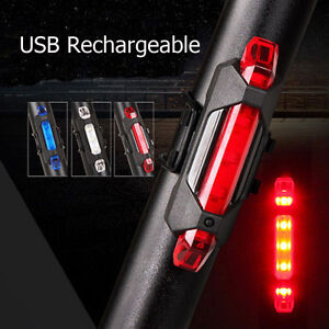 5-LED-USB-Rechargeable-Bike-Tail-Light-Bicycle-Safety-Cycling-Warning-Rear-Lamp