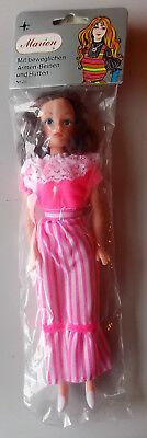 Hong Kong Maniquí De Moda 60/70er Jahre Trustful Vintage Caja Marion Muñeca Doll