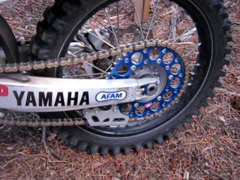 Renthal Blue Sprocket and Gold Chain Kit Yamaha YZ450f YZ 450f 98-15 14-51T