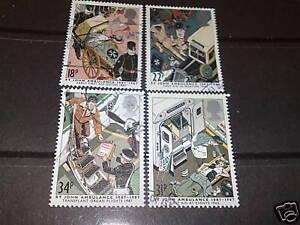 GB-1987-ST-JOHNS-AMBULANCE-FINE-USED-WHOLE-SET