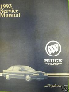 1993 Buick Skylark Gm Shop Repair Manual Service Ebay border=