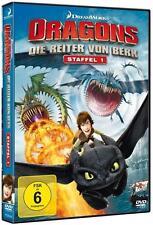 DVD - DRAGONS DIE REITER VON BERK - Staffel 1 Vol. 1-2-3-4 (2014) 4 DVDs NEU