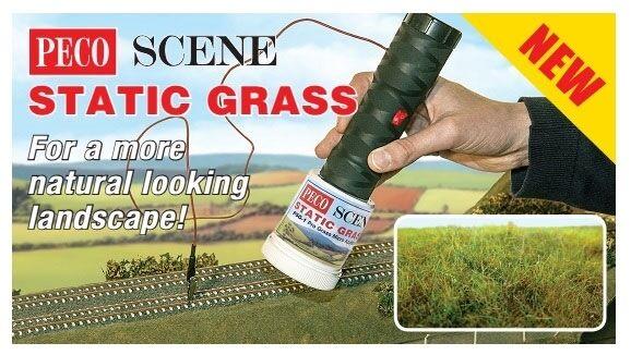 Peco PSG-1 - Pro Grass Micro 12V Applicator for Static Grass - Tracked 48 Post