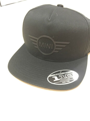 655 * Mini Genuine Gorra Ala logotipo plana pico 2017