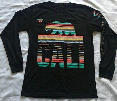 California Republic Bear Long Sleeve Shirt Cali State Bay Area SoCal Medium