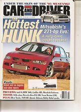 Car & Driver Mar 2003 - Mitsubishi Evo - Ford Mustang - Audi S4 - BMW 760 Li