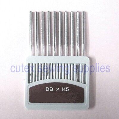 100 Organ Titanium DBXK5 Commercial Embroidery Machine Needles Tajima Barudan Size 110// 18