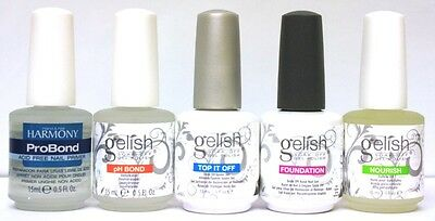 Hand & Nail Harmony Gelish - Essentials (Choose From Any)