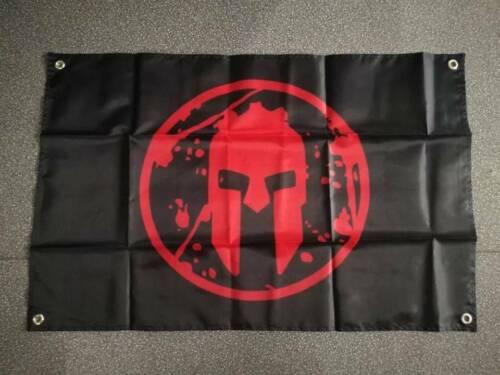 Spartan Race Flag nylon Ensign Blazon banner Hanging Decoration 60x90cm 90x150cm
