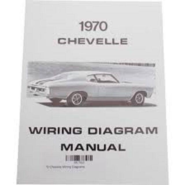 1970 Chevrolet Chevelle Wiring Diagram Manual