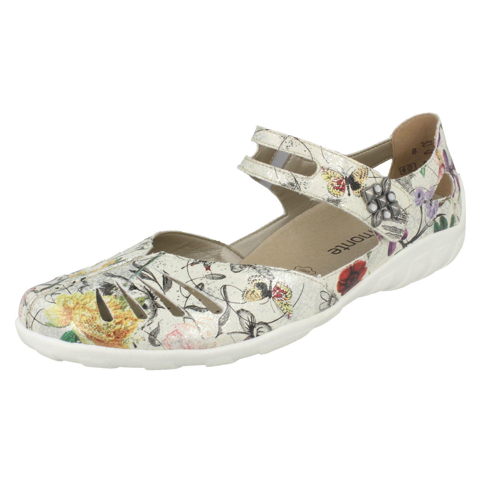 modelo más vendido de la marca Mujer Remonte R3412 Metálico Zapatos Casuales Cuero