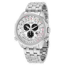 Citizen Mens BL5400-52A Eco-Drive Stainless Steel Sport Watch with Link Bracelet