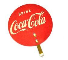 Drink Coca Cola Coke EZE-STIK Kalender Halter Aufkleber USA 1950