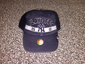 Details about 2010 Yankees AL East Division Champs Hat alds cap snapback  jeter judge program