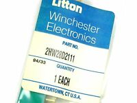 Litton 2hw28d2-111 Card Edge Connector 28/56 Contacts Pc Mount