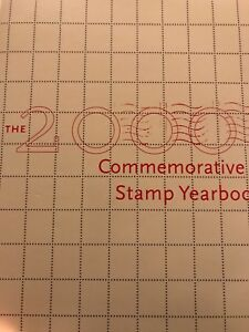 2000-Commemorative-Stamp-Yearbook-USPS-Souvenir-Mint-Set-with-Stamps-SEALED-NEW
