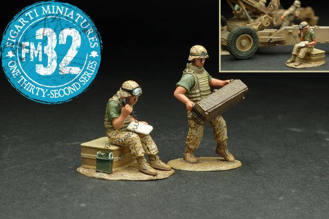 Figarti Zinn Irak & Afghanistan Wars IRQ-007 U. S. m. C.Artillerie Unterstützung