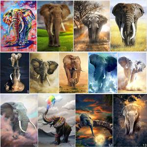 Elephant-DIY-5D-Diamond-Painting-Animal-Cross-Stitch-Kits-Home-Decor-Embroidery