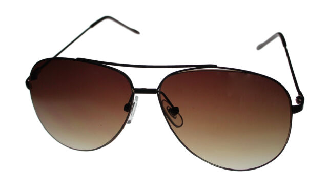 3251e89003 Perry Ellis Mens Sunglass Black Metal Aviator with Brown Gradient Lens PE66  1