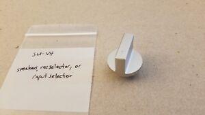 Technics SU-V4  speakers, rec selector, or input selector knob