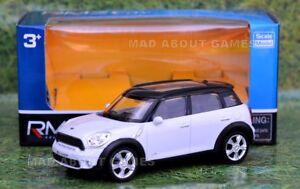 MINI-COOPER-S-COUNTRYMAN-New-10-cm-4-039-039-Car-Metal-Model-Diecast-Miniature-White