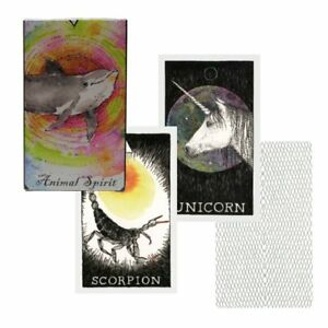 63pcs-Tarot-Cards-Soul-Spirit-Deck-Arrival-Animal-English-Divination-Board-Game