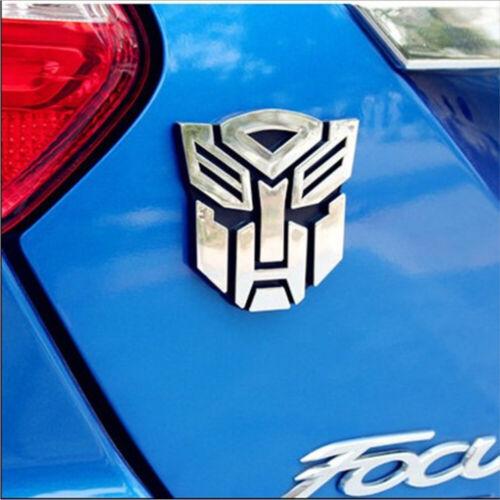 Transformers Autobot 3D Logo Emblem Badge Decal Auto Aufkleber 2