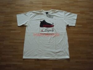 Ambitieux Original Nike Air Jordan Xii Black Red Baskets T-shirt Neuf Xl 2003 Pièce De Collection-afficher Le Titre D'origine
