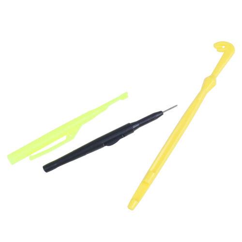 Angelschnur Schleife Knoten Werkzeuge Angelhaken Entferner Extraktor Kit bindAB