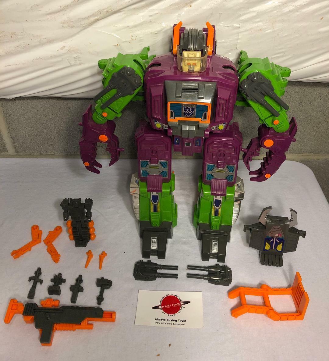 1987 Scorponok Complete G1 Transformers Headmaster