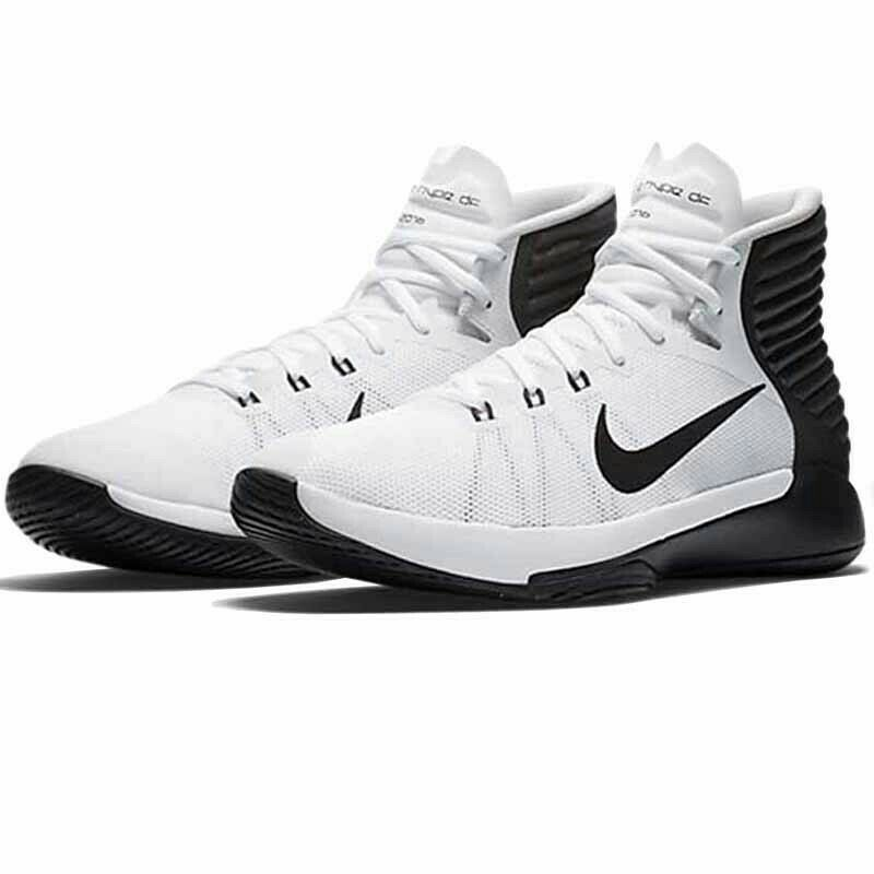 Nike Mens Prime Hype DF 2016 White Anthracite Black Trainers 844787-100