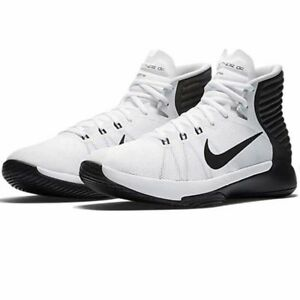 quality design 27a81 3742c Image is loading Nike-Mens-Prime-Hype-DF-2016-White-Anthracite-