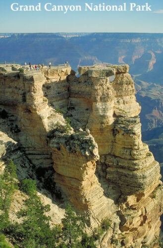 SUN MATHER POINT GRAND CANYON NATIONAL PARK USA LANDSCAPE REPRO POSTER