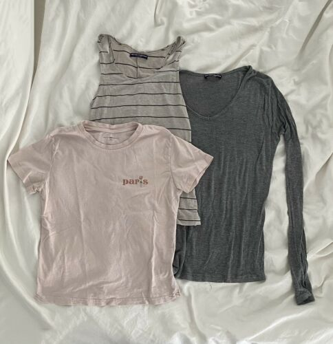Brandy Melville Lot Of 3 Tops One Size