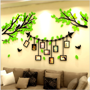 Das Bild Wird Geladen 3D Gross Acryl Pflanze Foto Wand Baum Rahmen