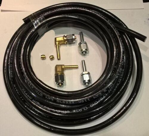LPG Autogas 6m x 6mm Flexible Pipe kit,Flexi Gas Hose,FARO type,Poly Pipe+6 clip