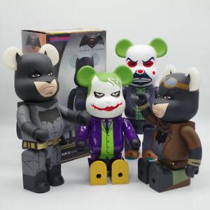 Urban Vinyl Arrival 400/% Bearbrick Cosplay Batman Fashion Toys PVC Action Figure